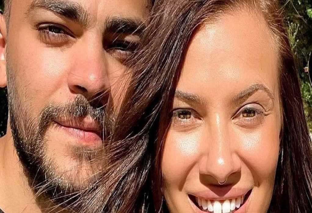 Λάουρα Νάργες – Χρήστος Σαντικάι: Οι πρώτες φωτογραφίες με τα φιλιά τους στην αμμουδιά