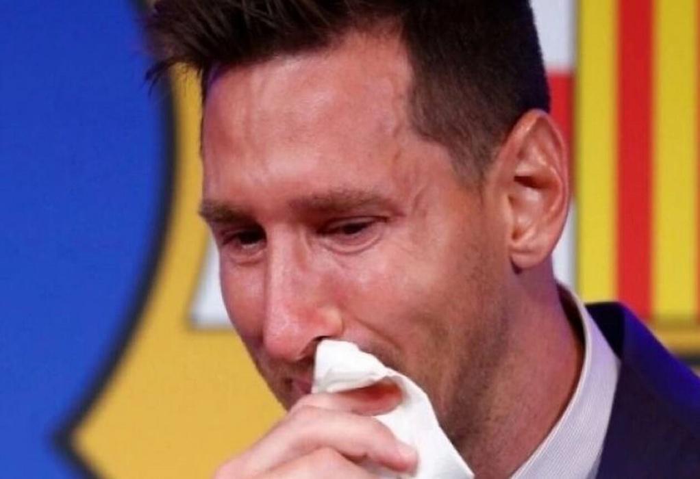 Mέσι: Σε δημοπρασία το χαρτομάντηλο που χρησιμοποίησε στο «αντίο» του στην Μπαρτσελόνα – Πωλείται σχεδόν 1 εκατ. ευρώ