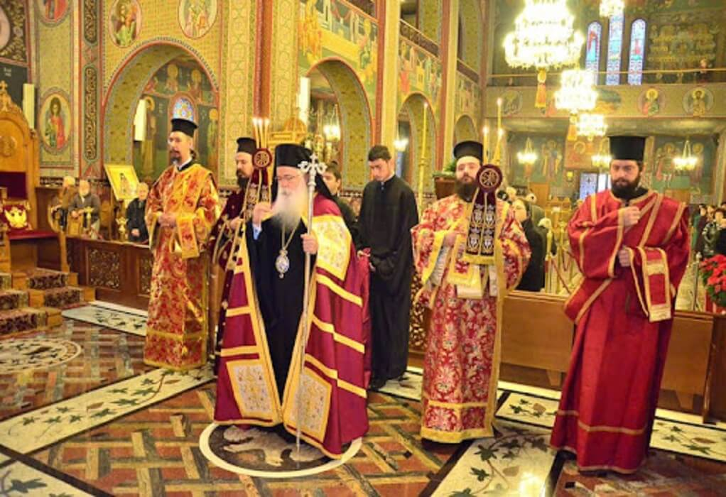 Θεία Λειτουργία στα Σέρβικα, για τους τουρίστες της Πιερίας (ΦΩΤΟ)