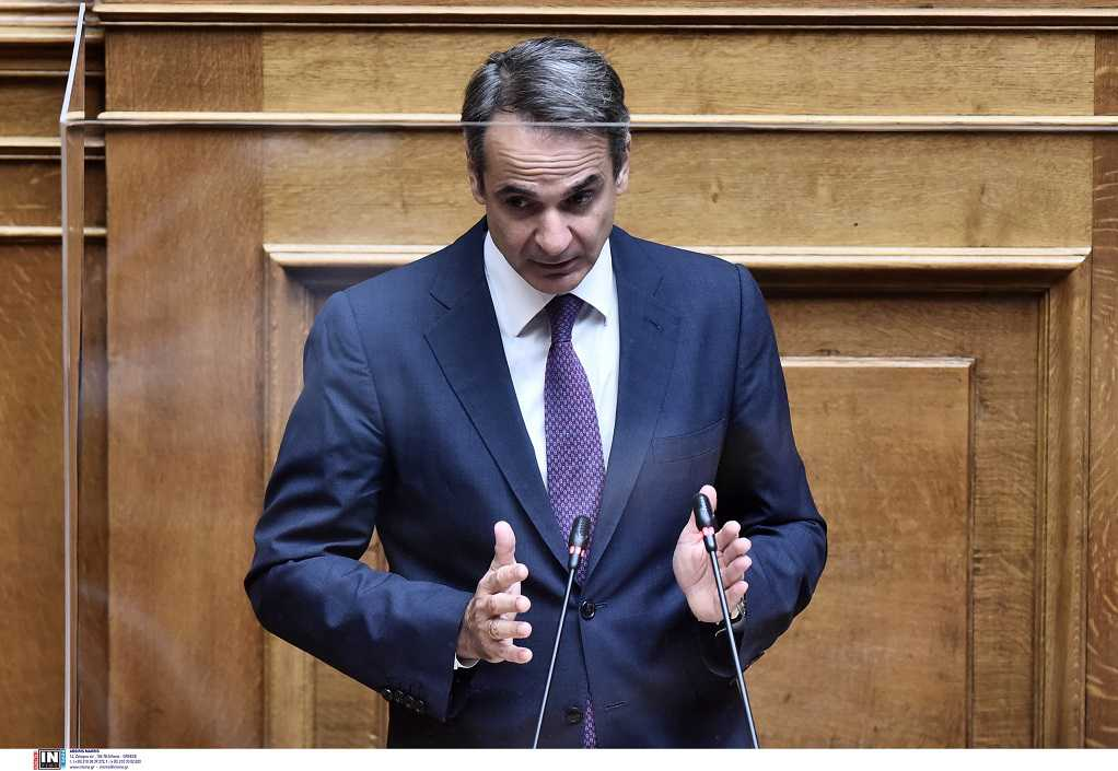 K. Μητσοτάκης στη Βουλή: Δίνουμε τη μάχη να πείσουμε τους συμπολίτες μας να εμβολιαστούν (VIDEO)