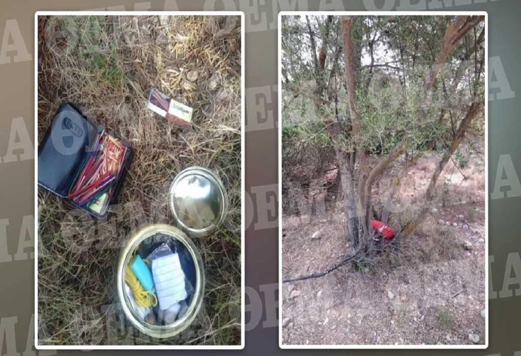 Φωτιά στην Αττική: Εμπρηστικός μηχανισμός βρέθηκε στο δάσος της Βαρυμπόμπης