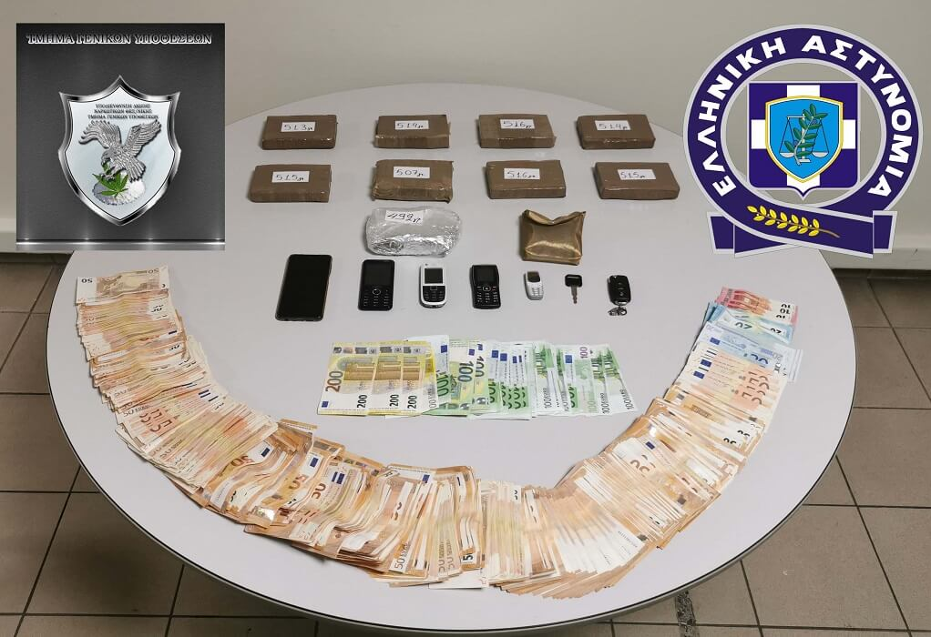 Θεσ/νίκη: Συνελήφθη 57χρονος-μέλος κυκλώματος εμπορίας ναρκωτικών