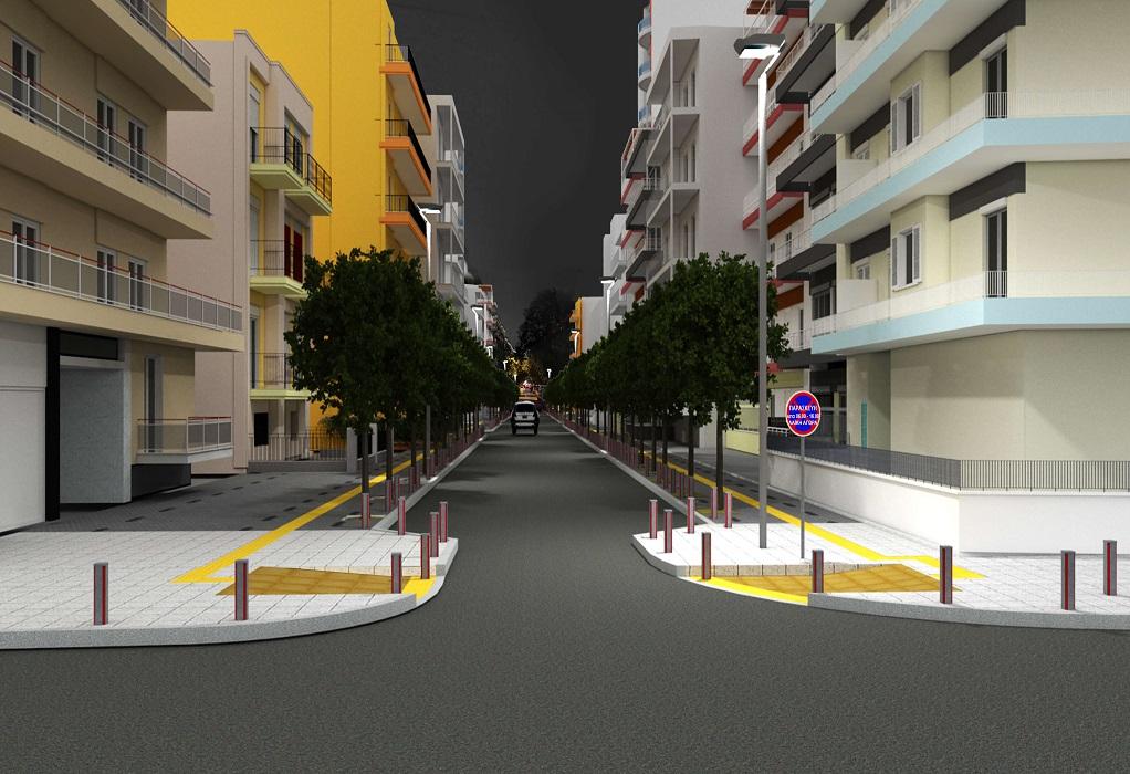 Δ. Θεσσαλονίκης: Από την οδό Χαλκιδικής ξεκινάει το πρόγραμμα ανάπλασης στις γειτονιές