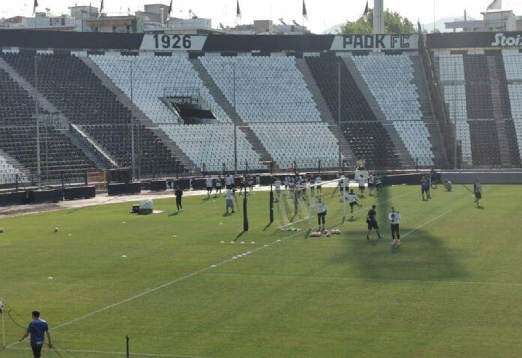 Super League: Νέο κρούσμα κορωνοϊού στον ΠΑΟΚ