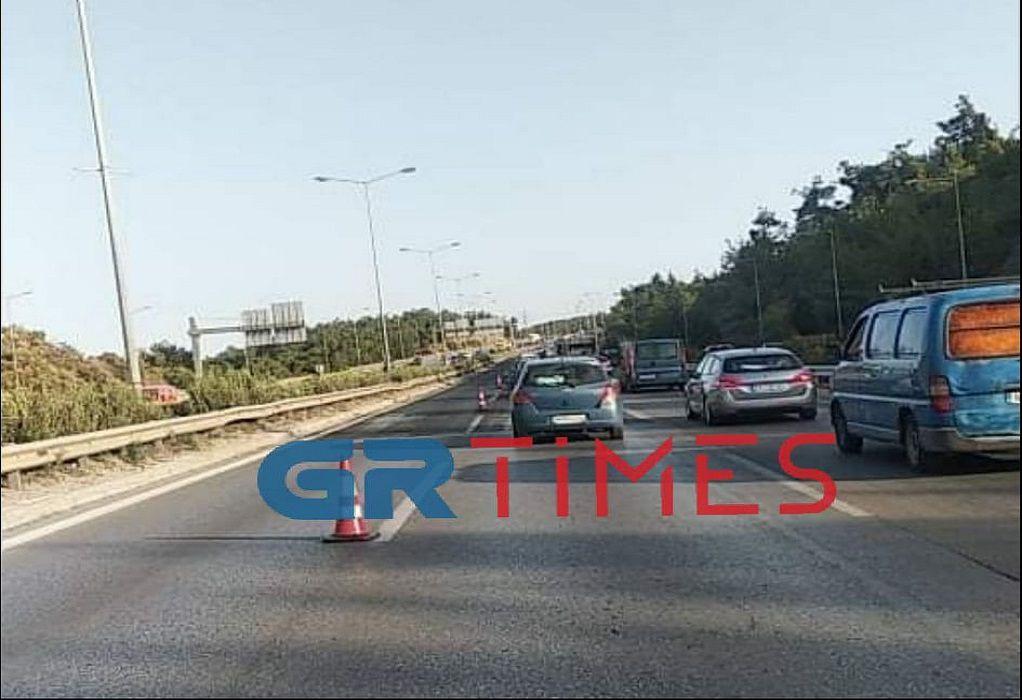 Θεσσαλονίκη: Καραμπόλα τεσσάρων οχημάτων στην Περιφερειακή οδό