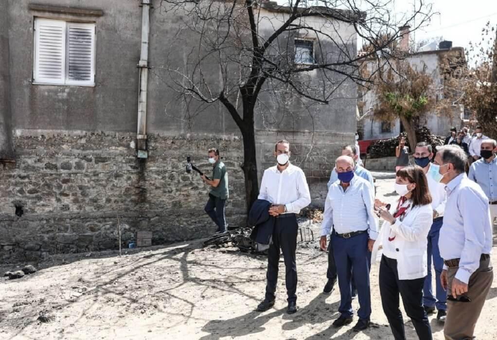 ΠτΔ-Ηλεία: Χρέος της Πολιτείας η αρωγή στην αποκατάσταση των ζημιών από φωτιές