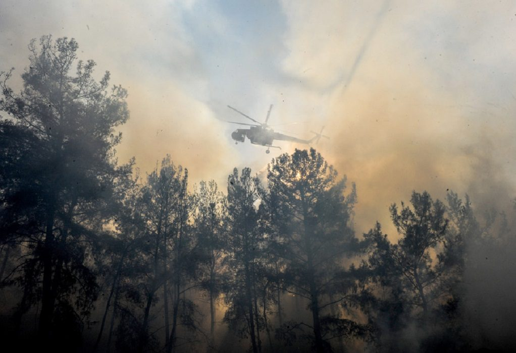 Υπό έλεγχο η φωτιά στη Ρόδο – Αυξημένα τα μέτρα επιφυλακής