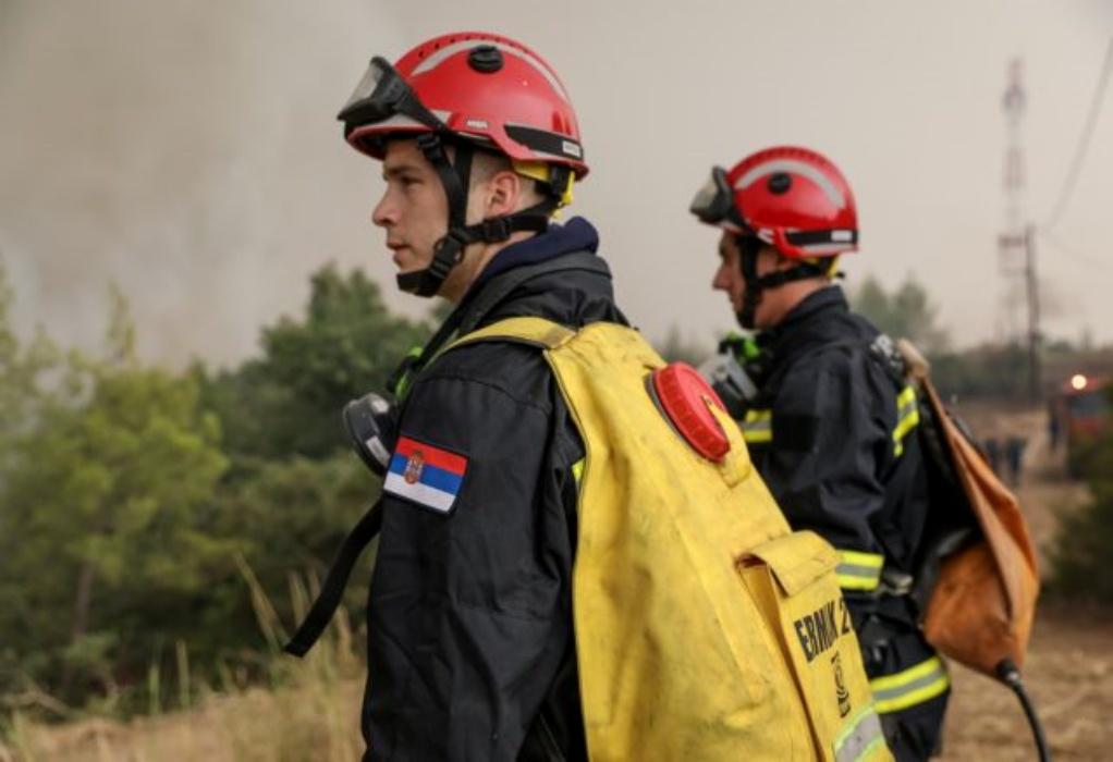 Φωτιές: Μετά τους Ρουμάνους αποχωρούν και οι Σέρβοι πυροσβέστες από την χώρα μας (VIDEO)