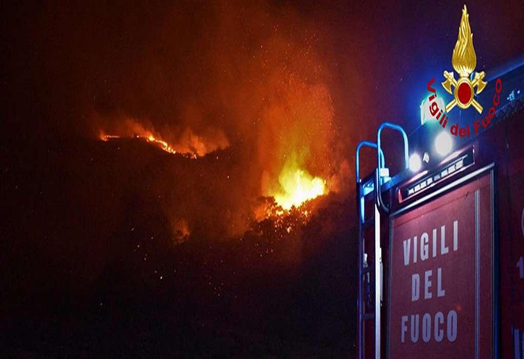 Φωτιά στη Σικελία: Σε πύρινο κλοιό το Παλέρμο