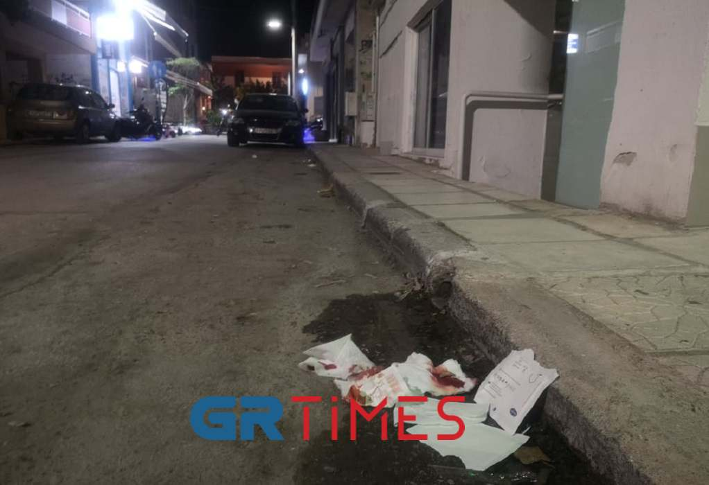 Θεσσαλονίκη: Σοβαρό επεισόδιο στην Καλαμαριά με έναν τραυματία (ΦΩΤΟ)