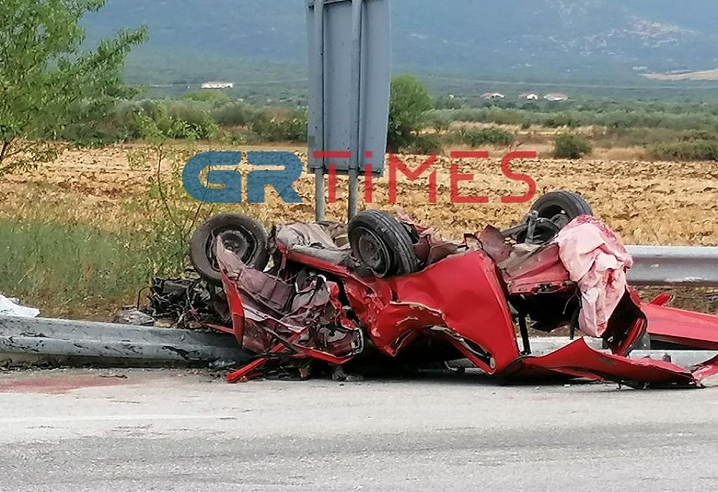 Σέρρες: Σύγκρουση οχημάτων με τουλάχιστον 3 νεκρούς (ΦΩΤΟ-VIDEO)
