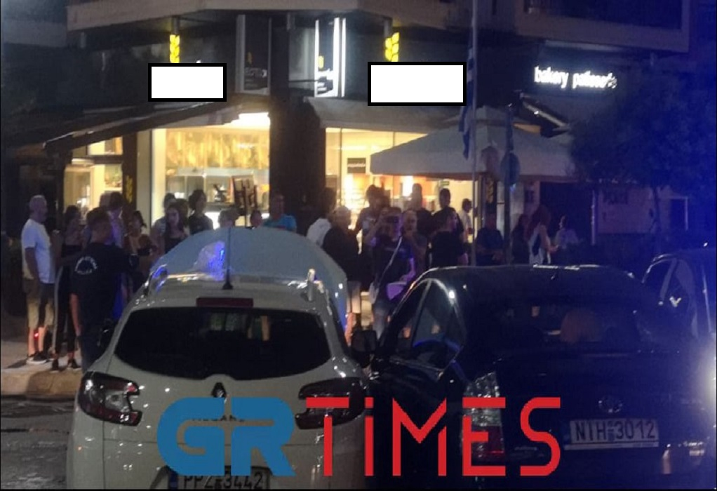 Τροχαίο με εγκλωβισμό στην Περαία Θεσσαλονίκης (ΦΩΤΟ-VIDEO)