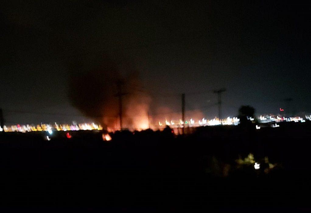 Περαία: Νέα φωτιά στα «Τσαΐρια»
