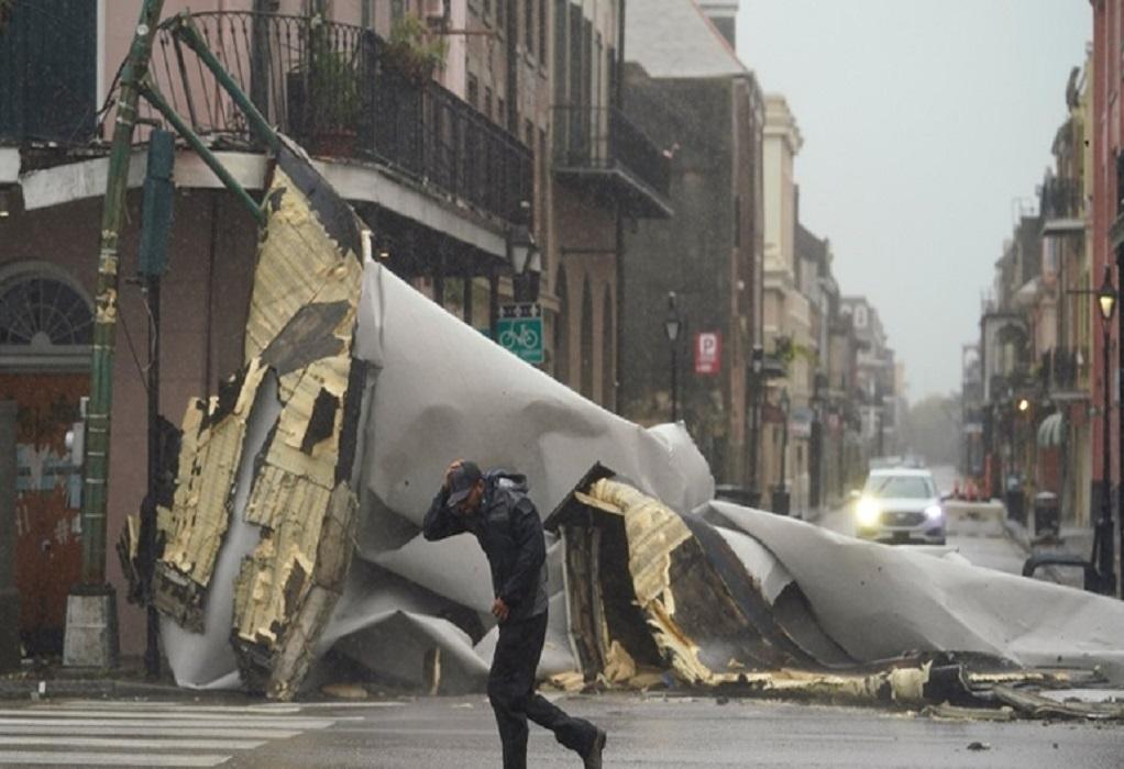 ΗΠΑ-Τυφώνας Άιντα: Σε κατάσταση καταστροφής η πολιτεία Λουιζιάνα (VIDEO)