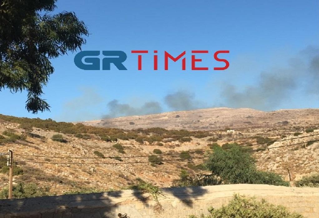 Ύδρα: Φωτιά σε σκουπιδότοπο-Κινητοποιήθηκαν δυνάμεις της πυροσβεστικής (ΦΩΤΟ)
