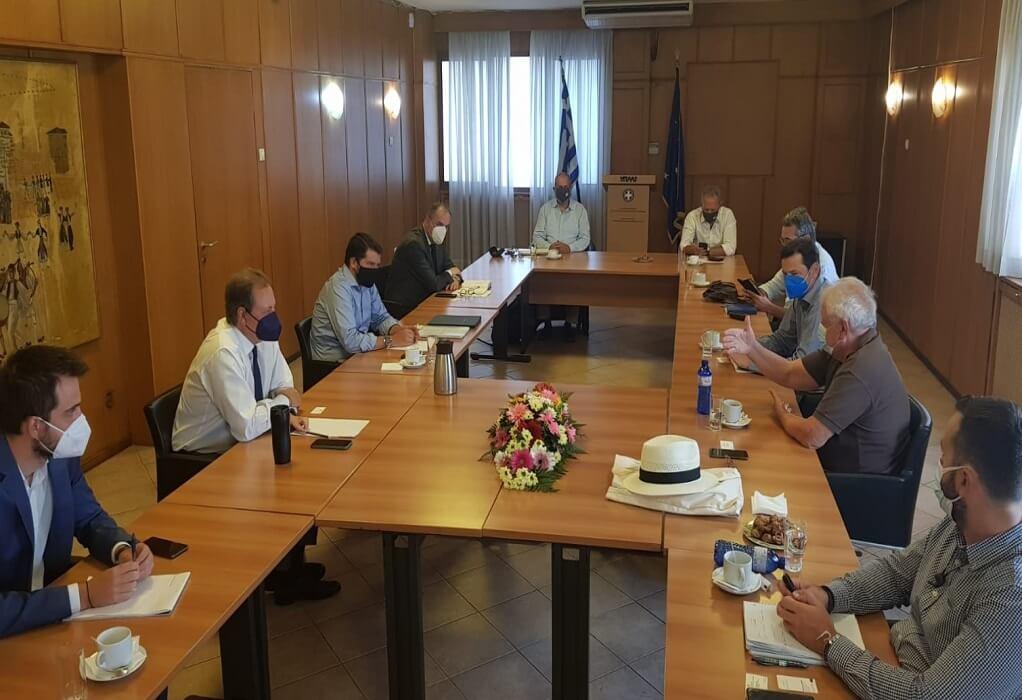ΥΠΑΑΤ: Συνάντηση Λιβανού-Μπένου για την ανασυγκρότηση της Εύβοιας