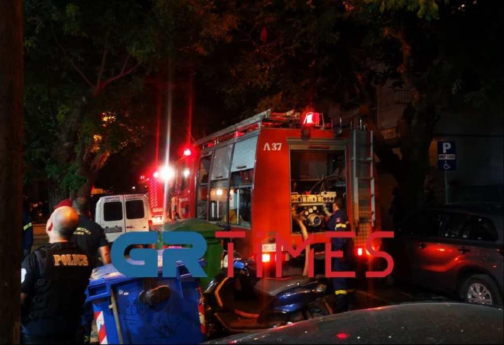 Θεσσαλονίκη: Φωτιά σε διαμέρισμα στην Τούμπα