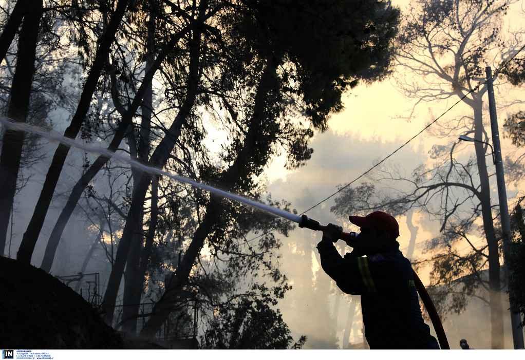 Πολύ υψηλός κίνδυνος πυρκαγιάς αύριο σε 7 Περιφέρειες της χώρας (Χάρτης)