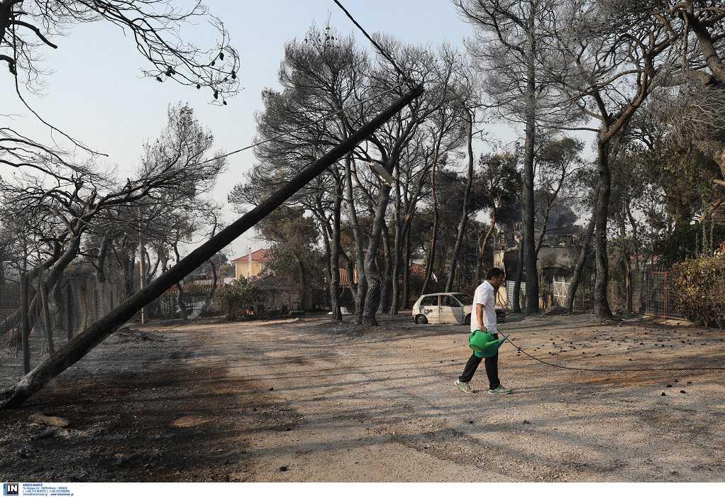 ΑΔΜΗΕ: Χωρίς βλάβες το δίκτυο από την πυρκαγιά