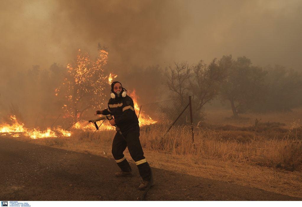 Πολύ υψηλός κίνδυνος πυρκαγιάς αύριο Δευτέρα για έξι Περιφέρειες