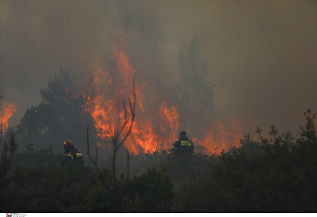 ΓΓΠΠ: Πολύ υψηλός κίνδυνος πυρκαγιάς αύριο για 5 Περιφέρειες της χώρας (Χάρτης)
