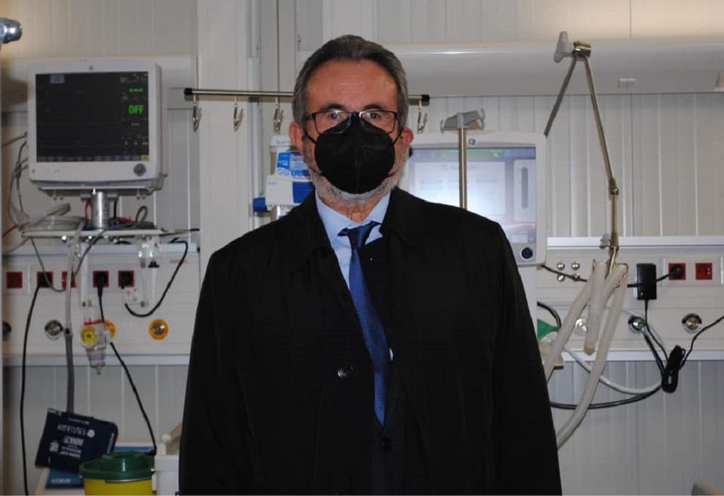 Την τρίτη δόση του εμβολίου έκανε ο διακεκριμένος επιστήμονας Αχ. Αναγνωστόπουλος
