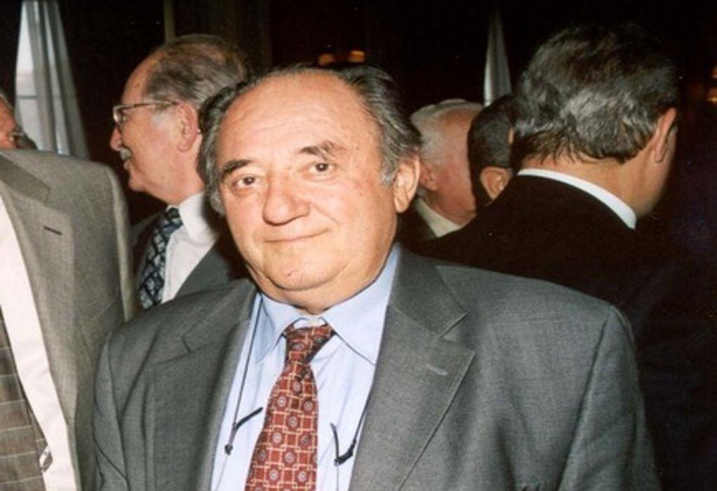 Πέθανε ο πρώην αντιπρόεδρος της Βουλής, Παναγιώτης Κρητικός