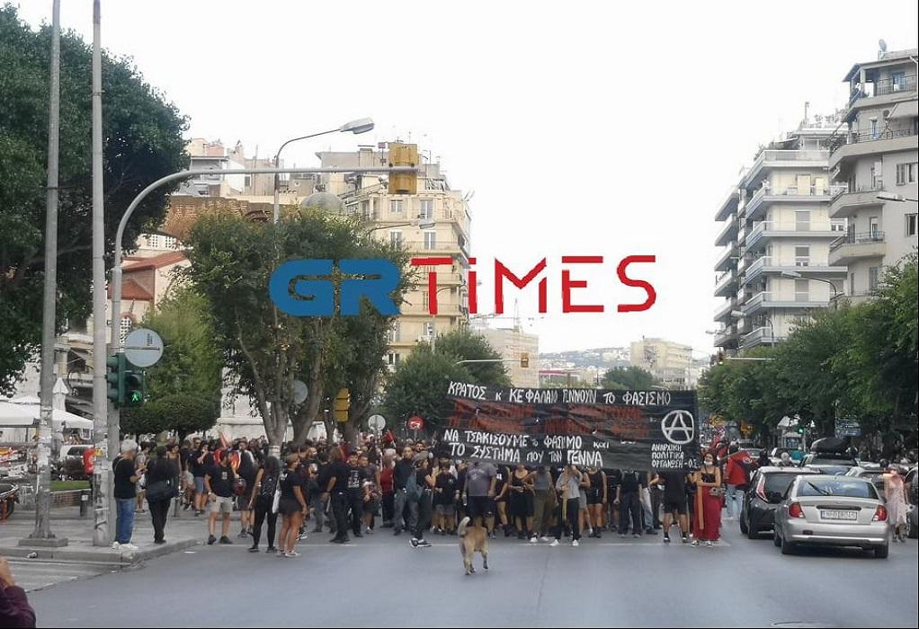 Θεσσαλονίκη: Πορεία στη μνήμη του Παύλου Φύσσα (ΦΩΤΟ–VIDEO)