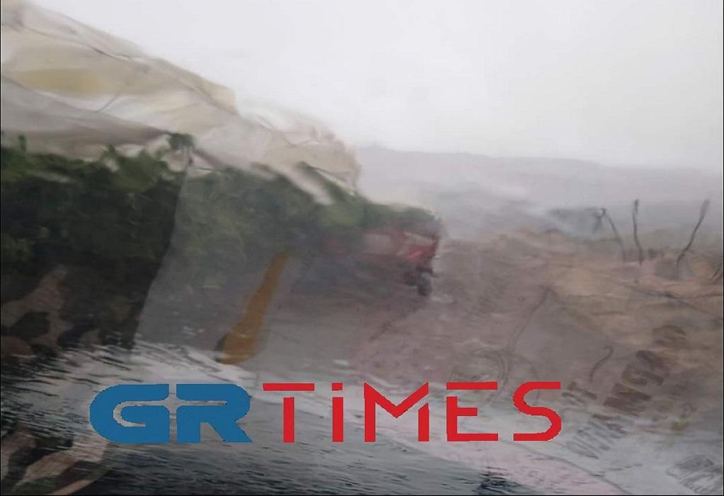 Δ. Παγγαίου: Άνεμοι εντάσεως 9 μποφόρ σάρωσαν τα πάντα (ΦΩΤΟ-VIDEO)