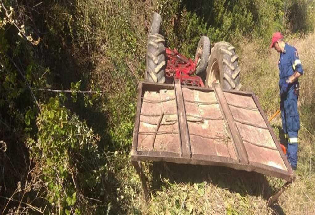 Αγρίνιο: Νεκρός 43χρονος από ανατροπή τρακτέρ