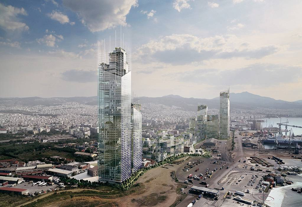 Σχεδιάζοντας τη νέα Δυτική Είσοδο της Θεσσαλονίκης, δημιουργώντας ένα νέο Επιχειρηματικό Κέντρο για την πόλη