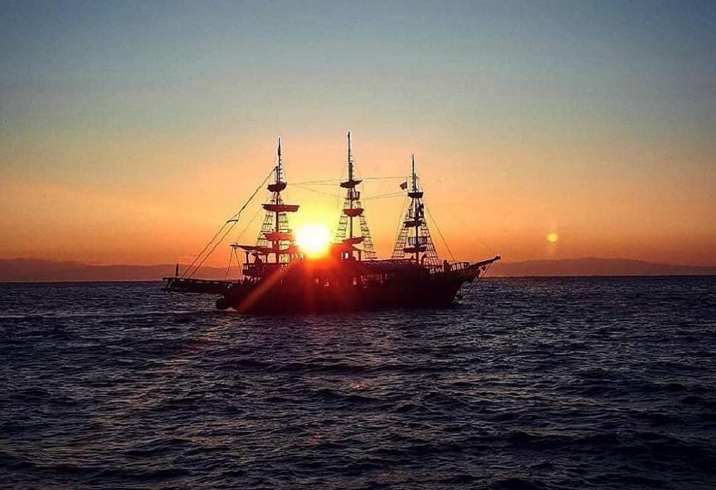 Θεσσαλονίκη: Ακυβέρνητο έπλεε το «Αραμπέλλα» στον Θερμαϊκό-Αγωνία για 49 επιβάτες