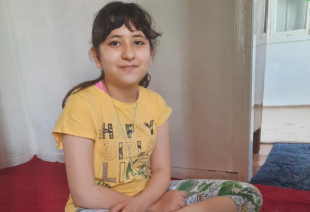 Υποτροφία για το Διεθνές Σχολείο της Βοστόνης έλαβε η 12χρονη Αρεζού, που ζει στη Λέσβο