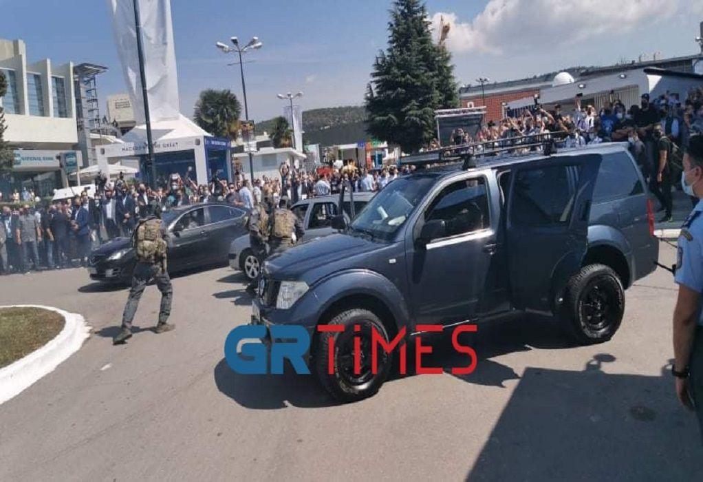 Θεσσαλονίκη: «Σύλληψη» κακοποιού και τρομοκράτη παρουσία Κ. Μητσοτάκη (ΦΩΤΟ-VIDEO)