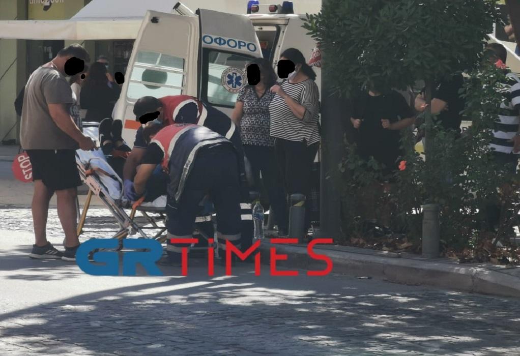 Θεσσαλονίκη: Σχολική τροχονόμος παρασύρθηκε από ΙΧ – Μεταφέρεται στο νοσοκομείο (ΦΩΤΟ-VIDEO)