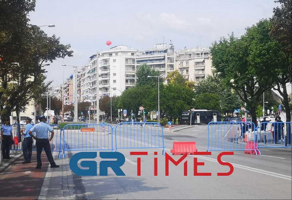 """Θεσσαλονίκη: """"Φρούριο"""" το Ι.Βελλίδης για τη συνέντευξη Τύπου του πρωθυπουργού (ΦΩΤΟ-VIDEO)"""