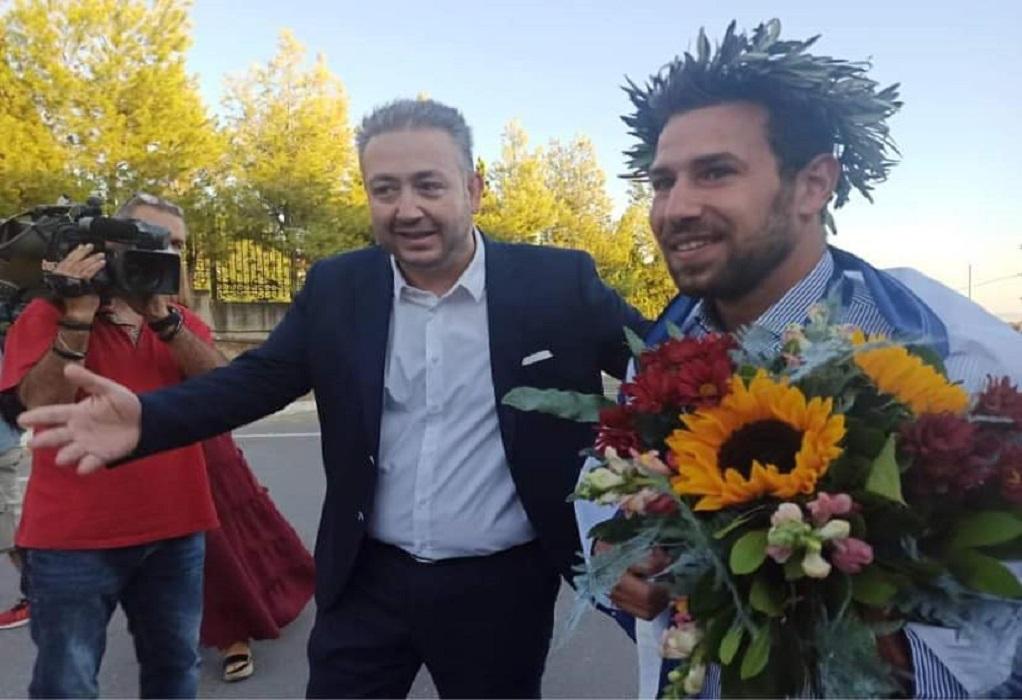 Σε «Άγγελος Βλαχόπουλος» μετονομάστηκε το Δημ. Κολυμβητήριο Ωραιοκάστρου
