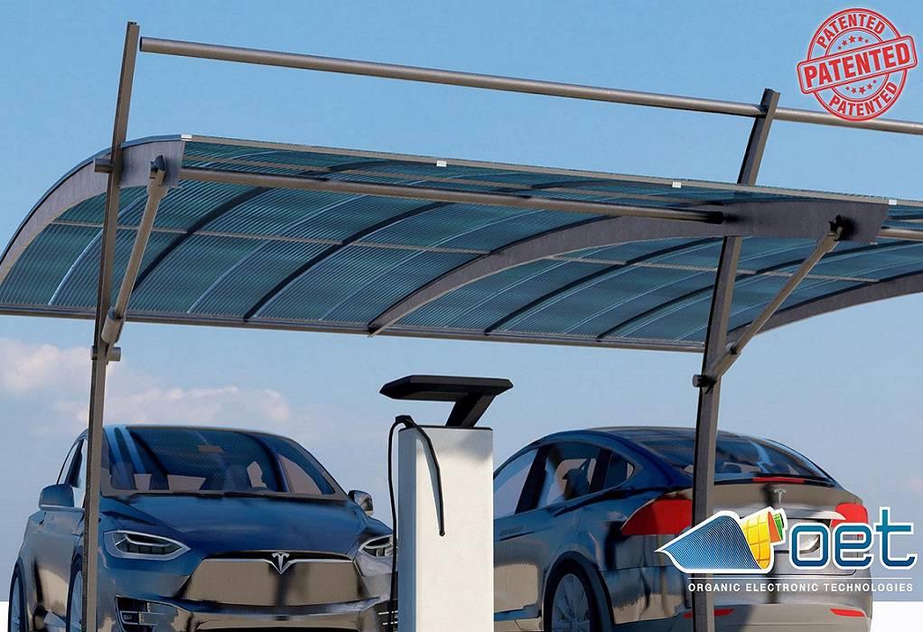 Ηλιακός σταθμός φόρτισης ηλεκτρικών αυτοκινήτων στο Voltaro5