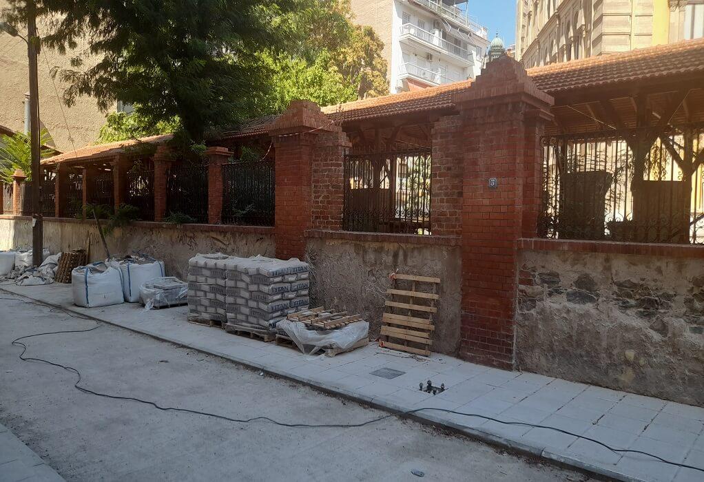 Δ. Θεσσαλονίκης: Σε πλήρη εξέλιξη τα έργα για την αναβάθμιση της περιοχής γύρω από το Γενί Τζαμί