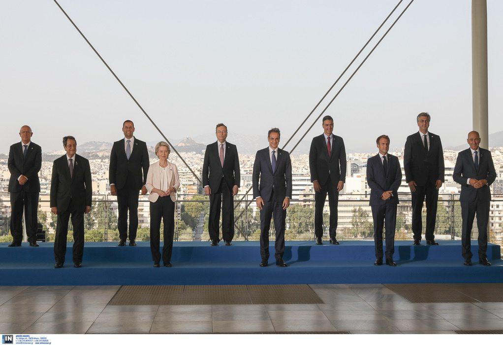 Δείτε LIVE τις δηλώσεις των ηγετών για το EUMED 9