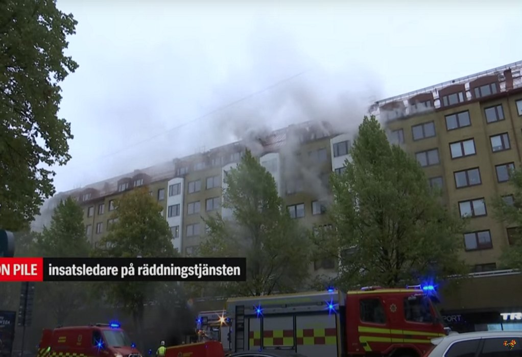 Γκέτεμποργκ – Έκρηξη σε πολυκατοικία:  25 τραυματίες – Τρεις σοβαρά (VIDEO)