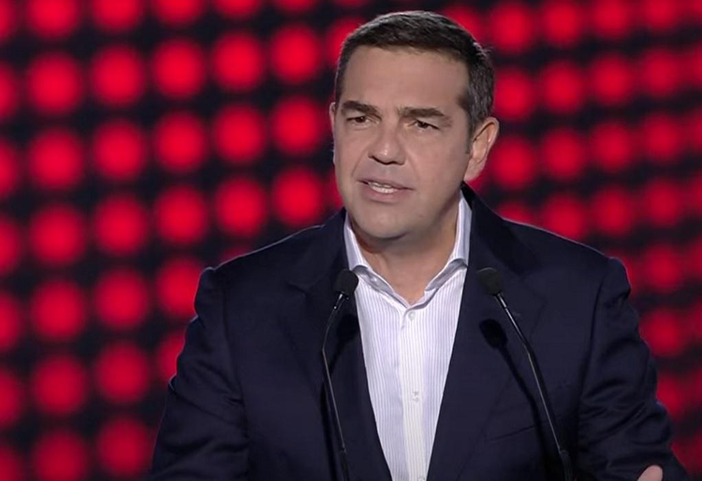 Θεσσαλονίκη: Η ομιλία του Αλέξη Τσίπρα στην 85η ΔΕΘ (LIVE)