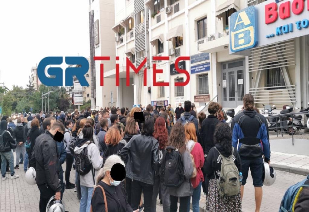 Θεσσαλονίκη: Αντιφασιστική πορεία φοιτητών στη Σταυρούπολη (ΦΩΤΟ-VIDEO)