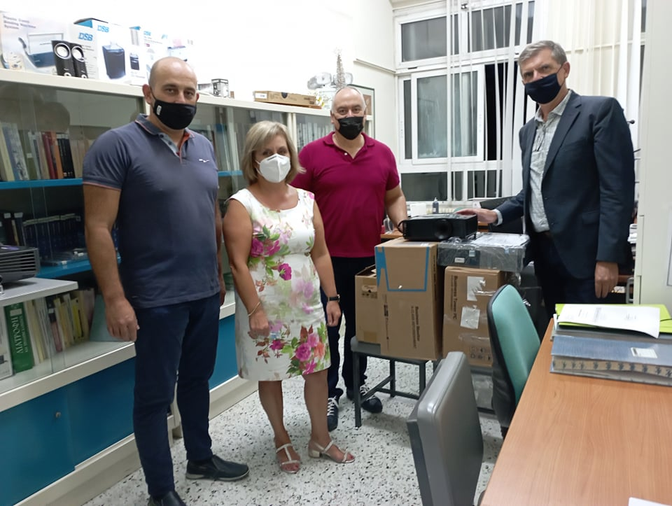 Δήμος Κιλκίς: Νέος οπτικοακουστικός εξοπλισμός στα σχολεία