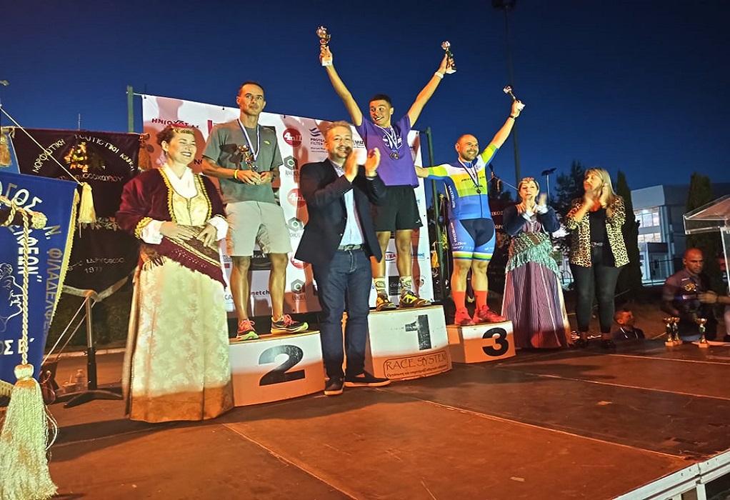 Δ. Ωραιοκάστρου: Με επιτυχία στέφθηκε η πρώτη διοργάνωση ορεινού Τριάθλου, Διάθλου, Ορεινού Τρεξίματος και Ποδηλασίας