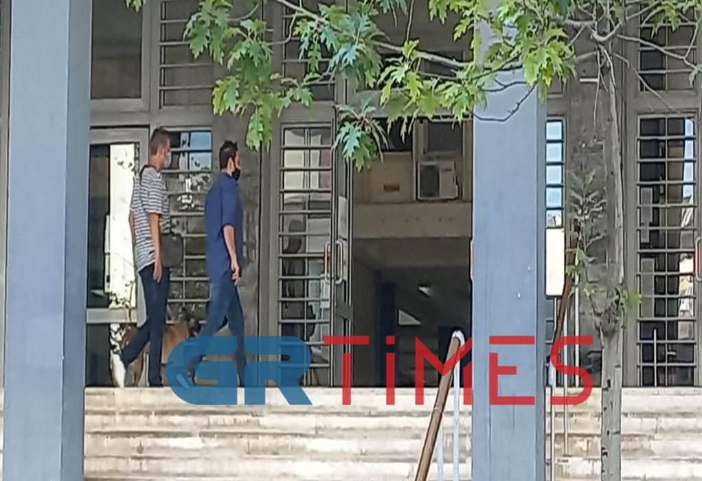 Θεσσαλονίκη: Φάρσα το τηλεφώνημα για βόμβα στα Δικαστήρια (VIDEO-ΦΩΤΟ)