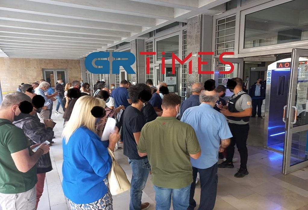 Θεσσαλονίκη: Με πιστοποιητικό εμβολιασμού ή αρνητικό rapid test στα δικαστήρια (ΦΩΤΟ-VIDEO)
