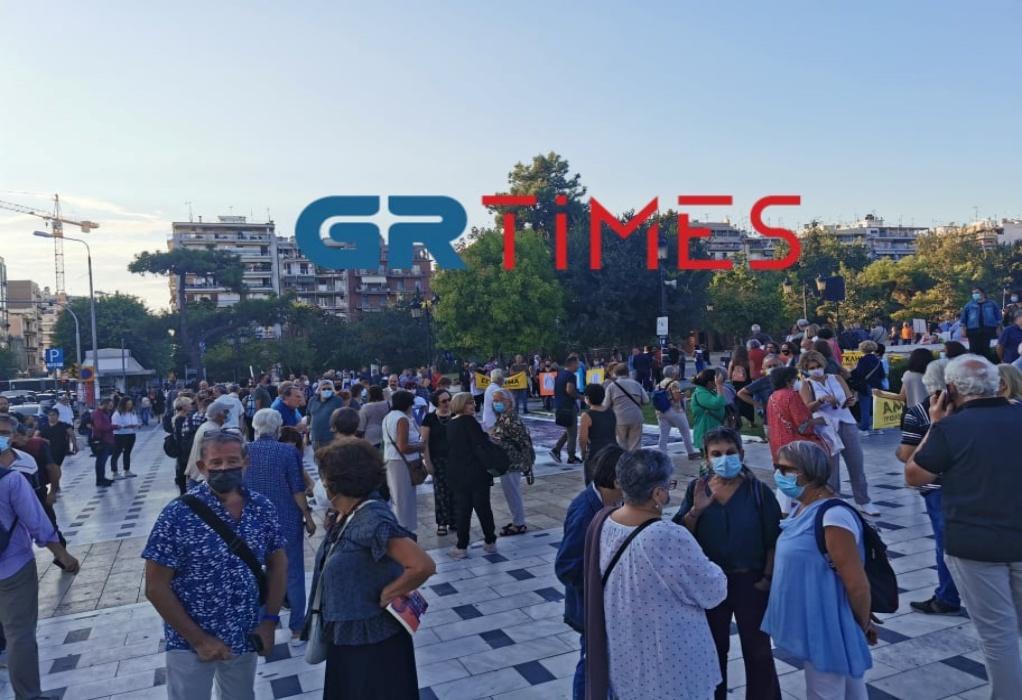 Θεσσαλονίκη: Διαμαρτυρία για τα αρχαία στον σταθμό Βενιζέλου (ΦΩΤΟ-VIDEO)