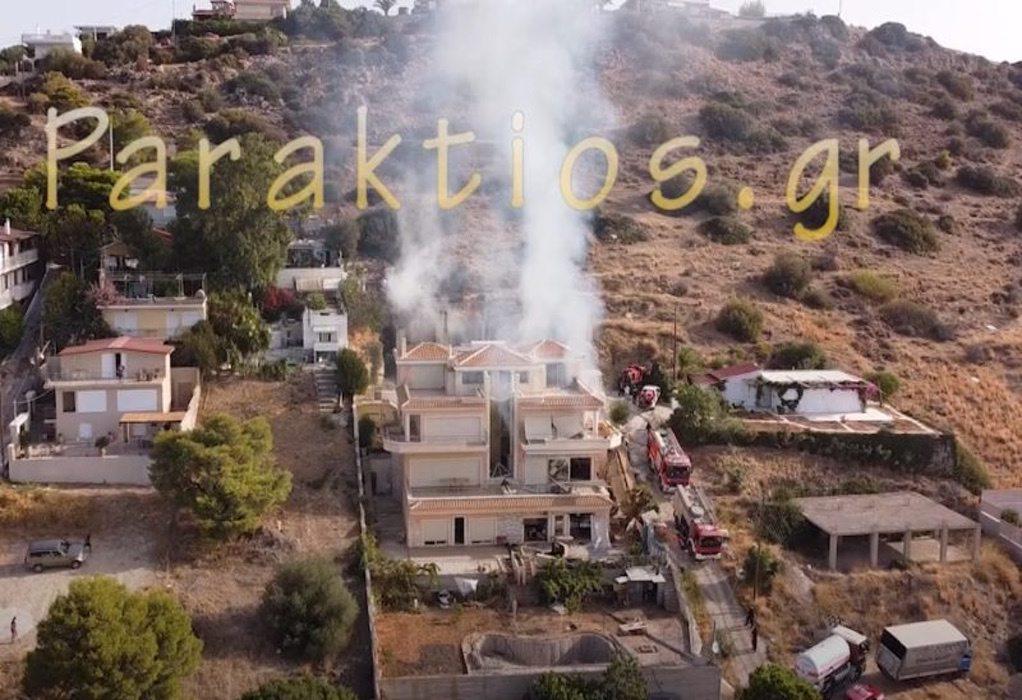 Έκρηξη σε σπίτι στα Καλύβια: Επτά οι τραυματίες – Οι δύο σοβαρά