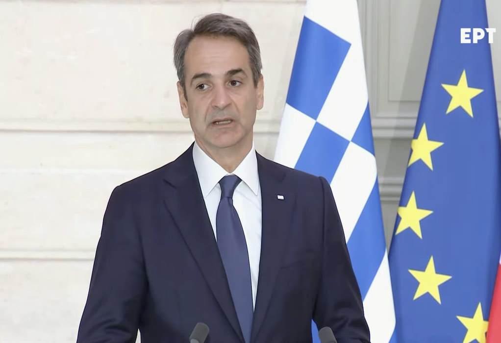 Κυρ. Μητσοτάκης: Σήμερα είναι μια ιστορική μέρα για την Ελλάδα και τη Γαλλία